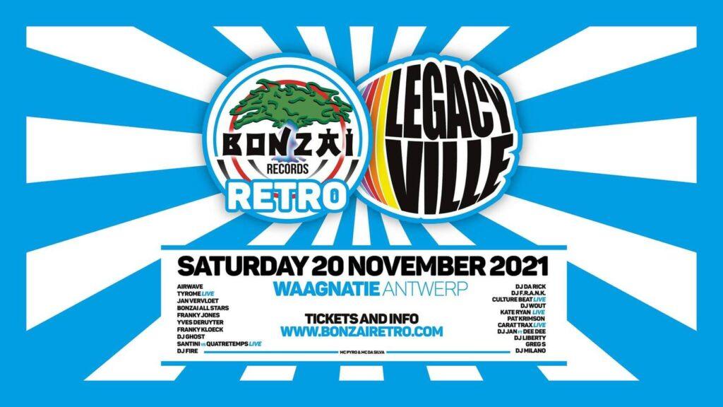 Bonzai Retro vs Legacy Ville 2021