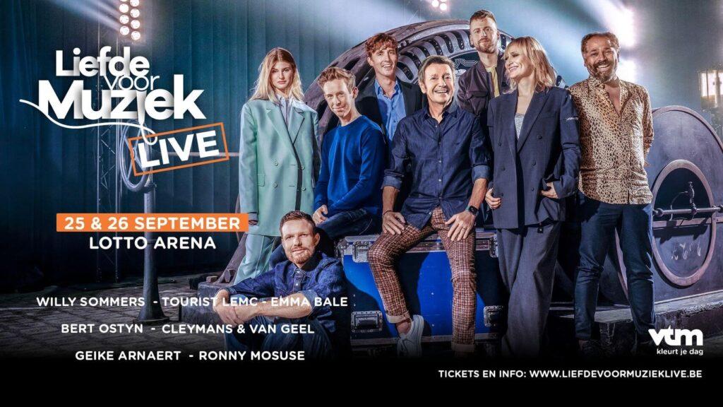Liefde voor Muziek LIVE in Lotto Arena