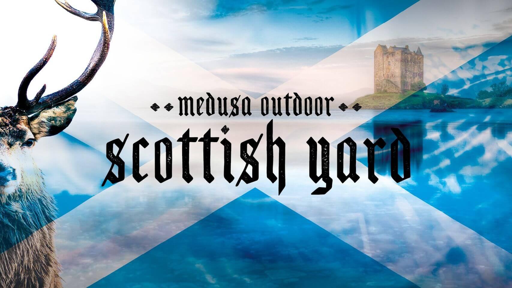 Medusa Outdoor Scottish Yard with Anfisa Letyago