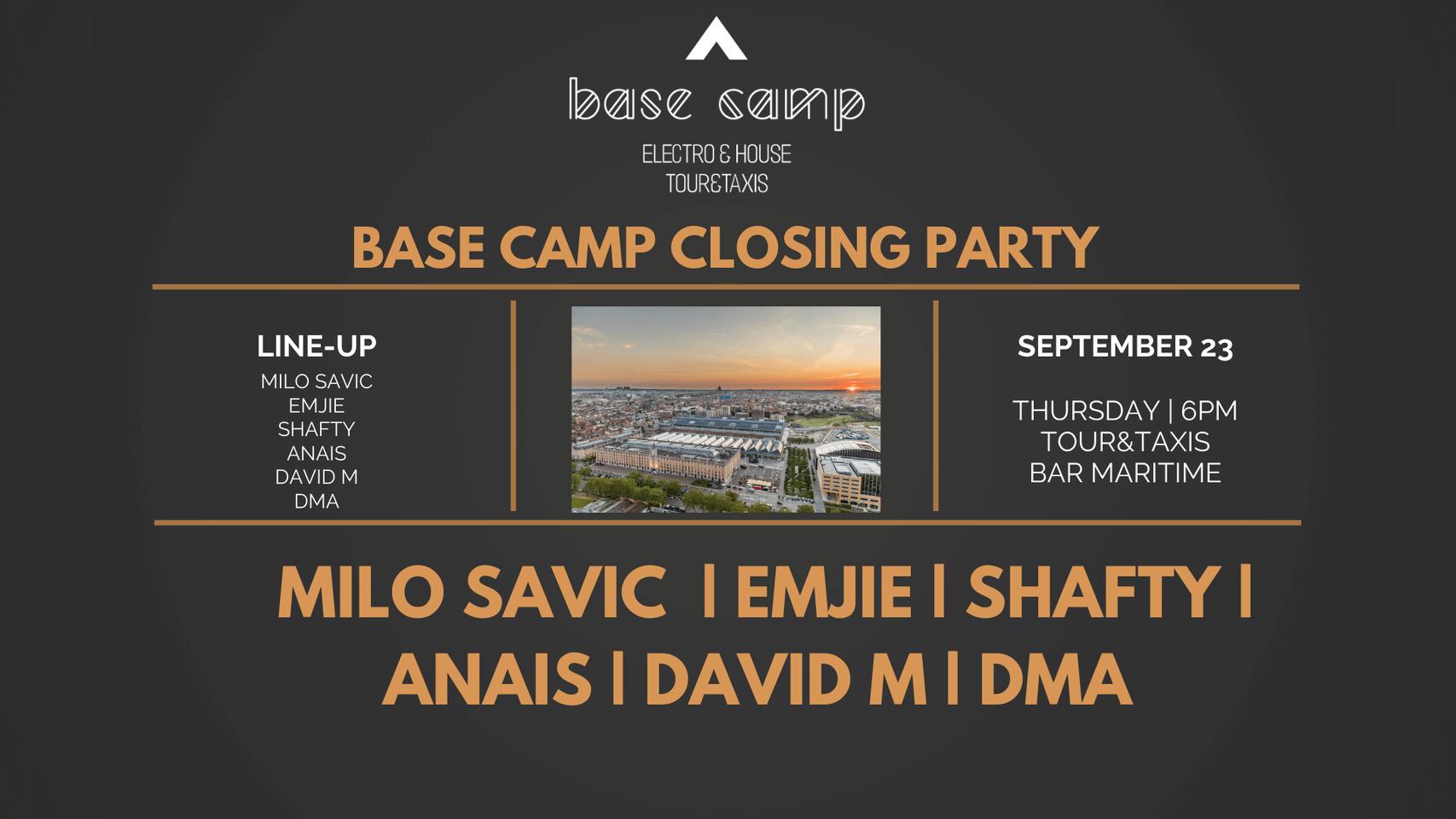 Base Camp Closing Party