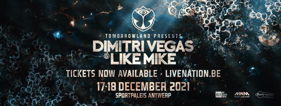 Dimitri Vegas & Like Mike Sportpaleis