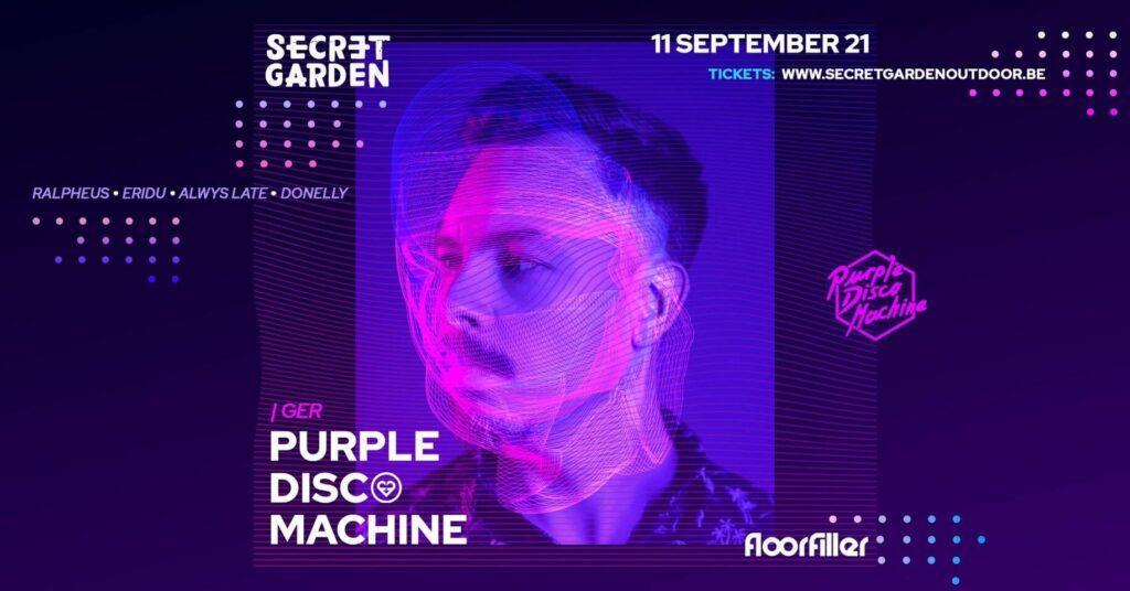 Secret Garden x FloorFiller present Purple Disco Machine