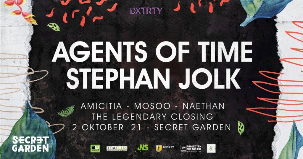 The Legendary Closing with Agents of Time (IT) & Stephan Jolk (GER)