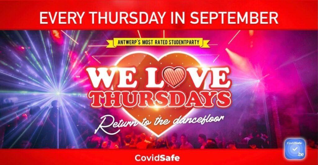 We Love Thursday Return To The Dancefloor