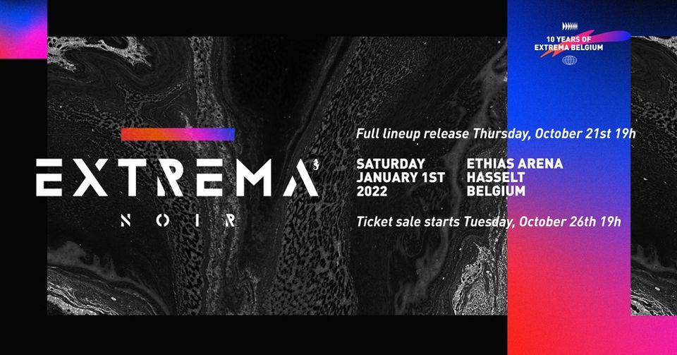 Extrema Noir 2022 • XXL Indoor Edition